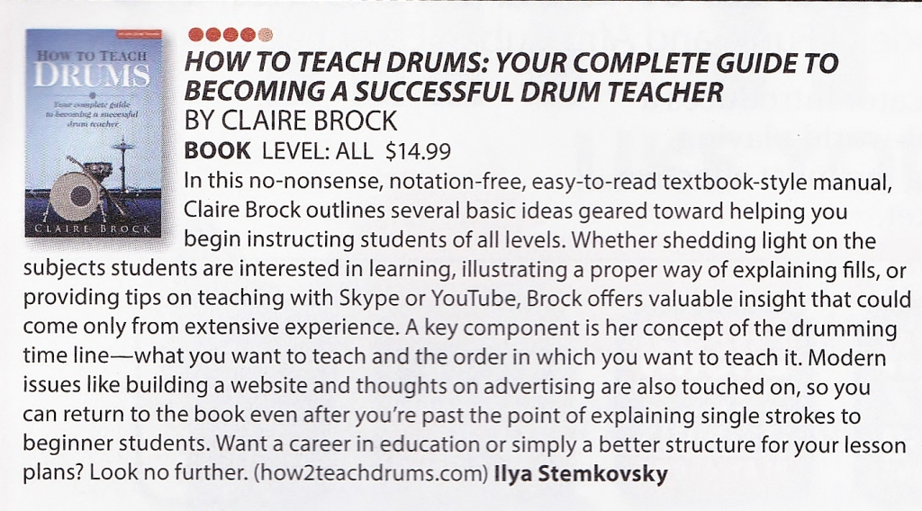 how to teach drums modern drummer